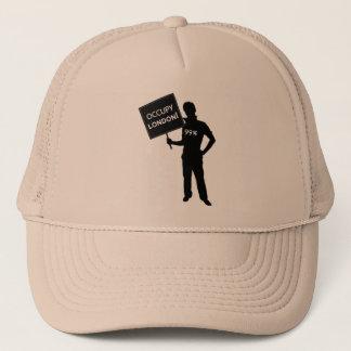 Occupy London Sign Trucker Hat