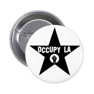 Occupy Los Angeles Pin