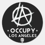 Occupy Los Angeles Sticker