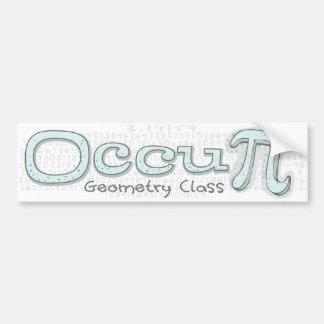 Occupy Math Class Bumper Sticker
