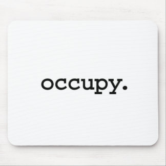 occupy. mouse pad