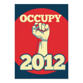 Occupy Movement 2012 Card