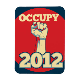 Occupy Movement 2012 Magnet