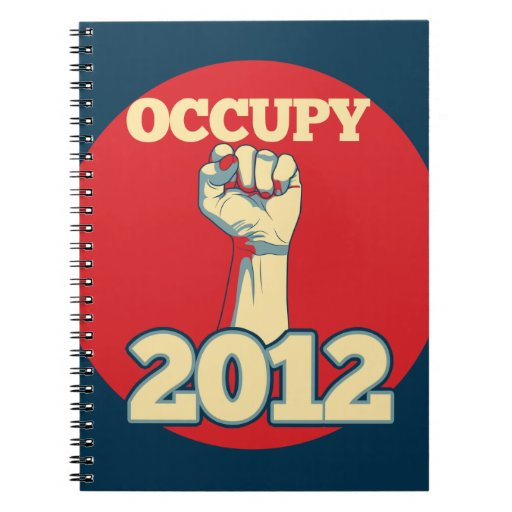 Occupy Movement 2012 Notebook