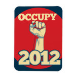 Occupy Movement 2012 Rectangle Magnets