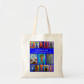 Occupy My Soul Quilt National Gathering Tote Tote Bags