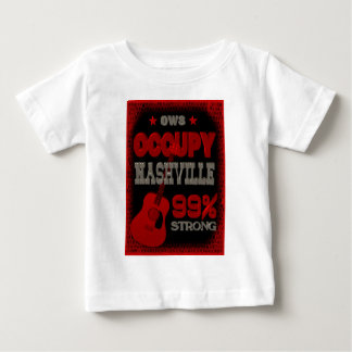 Occupy Nashville OWS protest 99 strong poster Baby T-Shirt