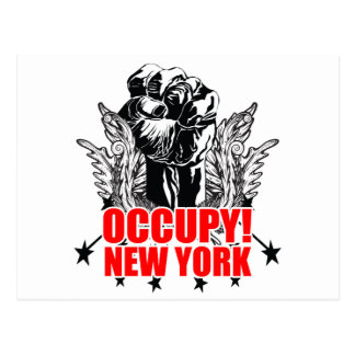 Occupy New York Postcard