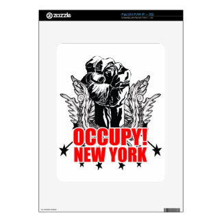 Occupy New York Decal For iPad