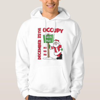 Occupy North Pole Hoodie