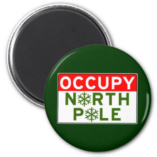 Occupy North Pole Magnets