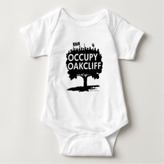 Occupy Oak Cliff - Show Your Support! Baby Bodysuit