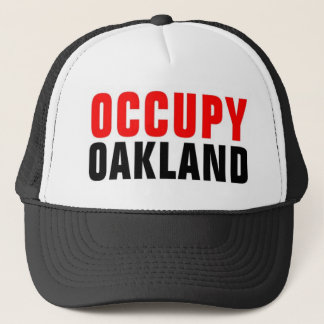 OCCUPY OAKLAND Hat