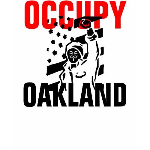 OCCUPY OAKLAND Shirt shirt