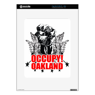 Occupy Oakland Skin For iPad