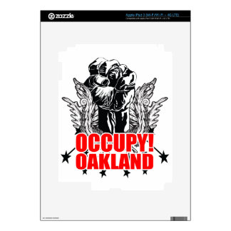 Occupy Oakland Decals For iPad 3