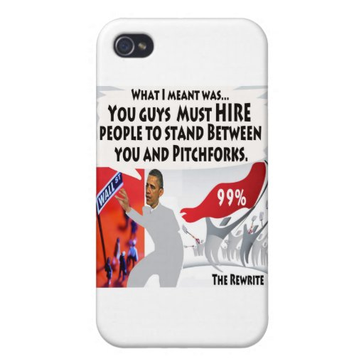 Occupy Obama Covers For iPhone 4