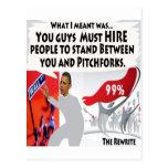 Occupy Obama Postcard