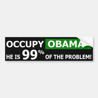 Occupy Obama Street Bumper Sticker Car Bumper Sticker