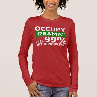 Occupy Obama Street Long Sleeve T-Shirt