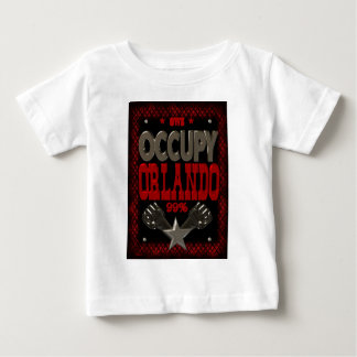 Occupy  Orlando OWS protest 99 strong poster T-shirt