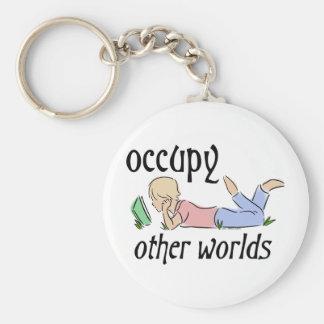 Occupy Other Worlds Keychain