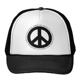 OCCUPY PEACE TRUCKER HAT