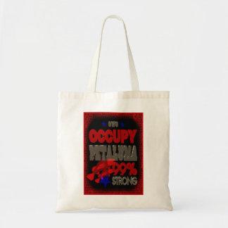 Occupy Petaluma OWS protest gift bag