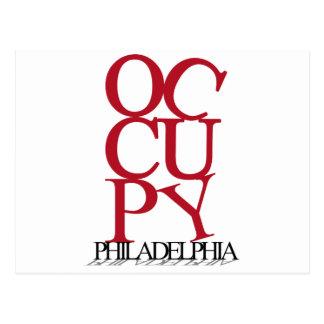 Occupy Philadelphia Postcard