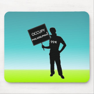 Occupy Philadelphia Sign Mouse Pad
