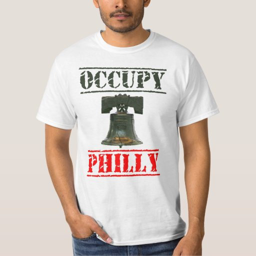 Occupy Philly Liberty Bell T-shirt