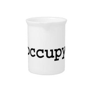 occupy. beverage pitchers