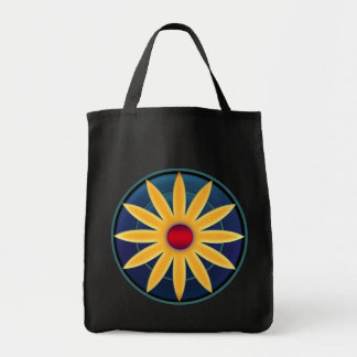 "Occupy Planet Earth ""Sun Flower"" Grocery Tote"