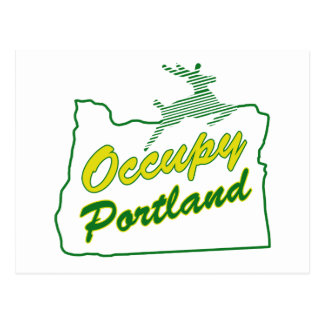 Occupy Portland Postcard