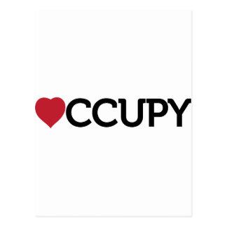 occupy postcards