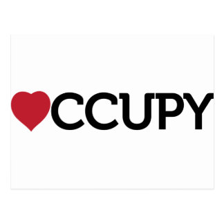 occupy post cards