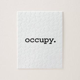 occupy. jigsaw puzzles