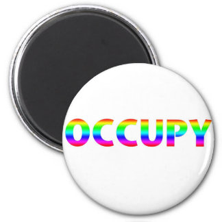 Occupy Rainbow Magnet
