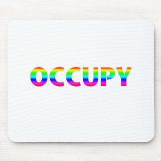 Occupy Rainbow Mouse Pad
