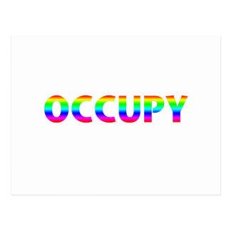 Occupy Rainbow Post Cards
