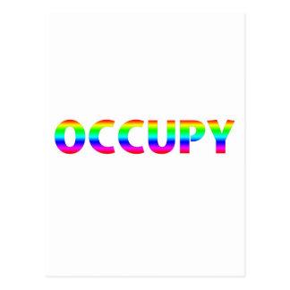 Occupy Rainbow Postcards