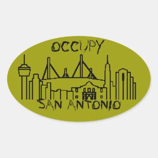 Occupy San Antonio Stickers