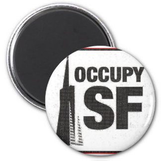 Occupy San Francisco 2011 Magnet