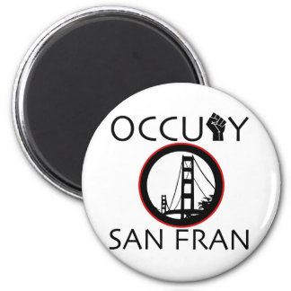 Occupy San Fransisco Magnet