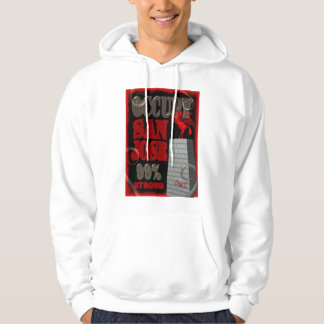Occupy San Jose OWS protest 99 percent strong Hoodie