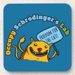 Occupy Schrodinger's Lab Drink Coaster