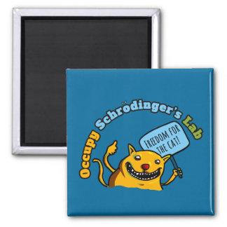 Occupy Schrodinger's Lab Fridge Magnet
