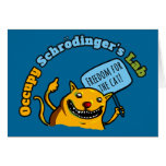Occupy Schrodinger's Lab Greeting Cards