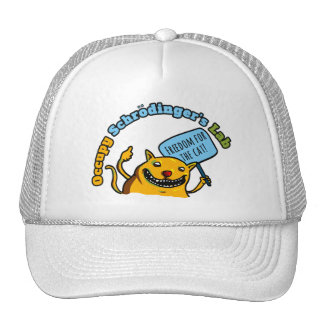Occupy Schrodinger's Lab Mesh Hats