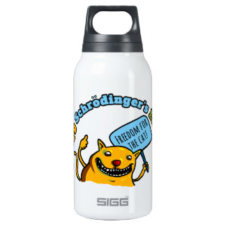 Occupy Schrodinger's Lab Insulated Water Bottle